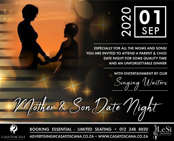Date Night   MOTHER SON SEP