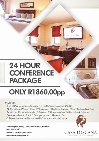 24 Hour Conference Package 425 X 600