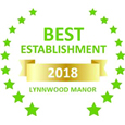 Sleeping-OUT's Guest Satisfaction Award Lynnwood Manor 2018
